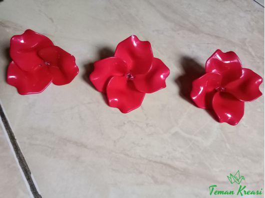 Cara Membuat Bunga Mawar Dari Akrilik 1 Teman Kreasi