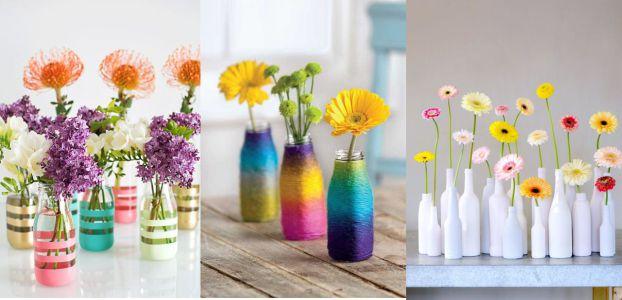 12 Kreasi Pot Bunga Dari Botol Bekas Yang Gampang Dibuat 1 Teman Kreasi