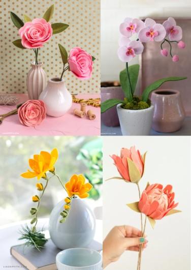 25 Jenis Bunga Dari Kain Flanel Untuk Ide Jualan Kreasi Flanel 1 Teman Kreasi